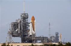 <p>Nasa prepara shuttle Endeavour per lancio del 13 giugno. REUTERS/Scott Audette</p>