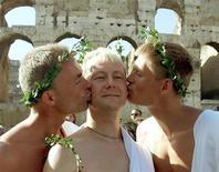 <p>Un momento del Gay Pride a Roma. REUTERS Pictures</p>