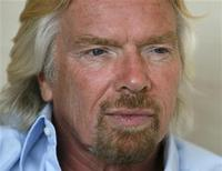 <p>British entrepreneur Richard Branson speaks to Reuters reporters during an interview at a hotel in Tokyo June 2, 2009. REUTERS/Michael Caronna</p>