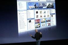 "<p>Steve Jobs a una presentazione di ""iTunes"" a San Francisco. REUTERS/Robert Galbraith</p>"