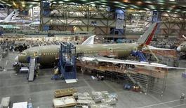<p>Un Boeing 787. REUTERS/Robert Sorbo</p>