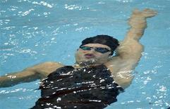 <p>Foto de arquivo do nadador Aschwin Wildeboer Faber da Espanha. 11/08/2008. REUTERS/Jason Reed</p>