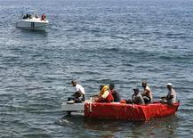 <p>Ue:reato immigrazione clandestina Italia sposterà rotte migranti. REUTERS/Enrique De La Osa</p>