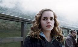 """<p>Actress Emma Watson portrays the character Hermione Granger in Warner Bros. Pictures' fantasy adventure film """"Harry Potter and the Half-Blood Prince"""" in this undated publicity photograph. Harry Potter might be the most famous boy wizard in the world, but it's brainy Hermione who is casting the biggest spell on fans, according to an online poll released on July 14, 2009. REUTERS/© 2009 Warner Bros. Ent. Harry Potter Publishing Rights © J.K.R./Handout</p>"""