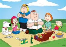 "<p>The cast of ""Family Guy"" in an undated image courtesy of Fox. REUTERS/Fox/Seth McFarlane/Handout</p>"