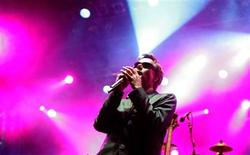 """<p>Adam """"MCA"""" Yauch of the Beastie Boys performs during the Exit music festival in the Novi Sad July 14, 2007. REUTERS/Marko Djurica</p>"""