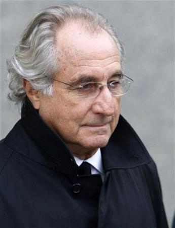 Bernard Madoff exits the Manhattan federal court house in New York, in this January 14, 2009 file photo. REUTERS/Brendan McDermid/Files