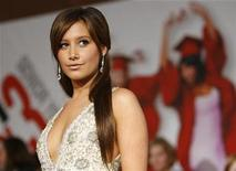 """<p>Cast member Ashley Tisdale poses at the premiere of the movie """"High School Musical 3: Senior Year"""" at Galen Center in Los Angeles October 16, 2008. REUTERS/Mario Anzuoni</p>"""