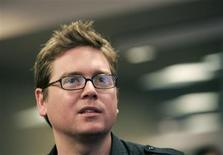 <p>O co-fundador do Twitter Biz Stone (em foto de arquivo) comentou o caso no blog do serviço. REUTERS/Robert Galbraith</p>