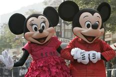 <p>Walt Disney compra Marvel e l'Uomo Ragno vola in borsa. REUTERS/Bobby Yip</p>