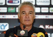 """<p>Calcio, per Ranieri alla Roma serve """"una scossa"""". REUTERS/Stringer</p>"""