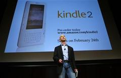 <p>L'ad di Amazon Jeff Bezos. REUTERS/Mike Segar</p>