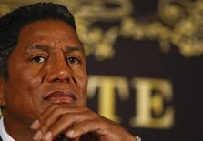"""<p>Jermaine Jackson, the brother of late U.S. singer Michael Jackson, attends a news conference promoting """"The Tribute, In Memory of Michael Jackson"""" event in Berlin, September 10, 2009. REUTERS/Thomas Peter</p>"""