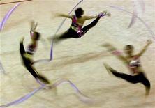 <p>Ginnastica ritmica, oro e argento per Italia a Campionati mondo. REUTERS PICTURE</p>