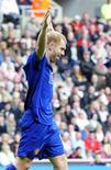 <p>Paul Scholes garantiu a vitória do Manchester sobre o Besiktas na Liga dos Campeões REUTERS/Nigel Roddis (BRITAIN SPORT SOCCER)</p>