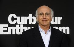 """<p>Cast member and creator Larry David attends the premiere of the seventh season of the HBO series """"Curb Your Enthusiasm"""" in Los Angeles September 15, 2009. REUTERS/Phil McCarten</p>"""