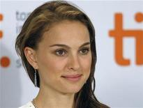 """<p>Actress Natalie Portman listens during a news conference for the film """"Love And Other Impossible Pursuits"""" at the 34th Toronto International Film Festival September 16, 2009. REUTERS/Mike Cassese</p>"""