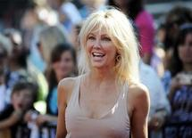 "<p>Actress Heather Locklear arrives for the finale of Season 8 of ""American Idol"" in Los Angeles May 20, 2009. REUTERS/Phil McCarten</p>"