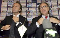 <p>Andrea e Diego Della Valle. REUTERS</p>