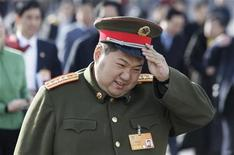 <p>Mao Xinyu in una foto d'archivio. REUTERS/Jason Lee (CHINA)</p>