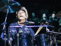 <p>Drummer Stewart Copeland of The Police performs during his band's farewell concert at Madison Square Garden in New York August 7, 2008. REUTERS/Brendan McDermid</p>