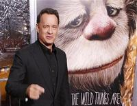 """<p>Actor and producer Tom Hanks arrives for the premiere of the film """"Where The Wild Things Are"""" in New York October 13, 2009. REUTERS/Lucas Jackson</p>"""