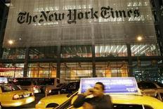<p>La sede del New York Times a New York. REUTERS/Joel Boh (UNITED STATES MEDIA)</p>