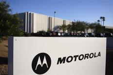 <p>La sede di Motorola a Tempe, in Arizona. REUTERS/Joshua Lott</p>