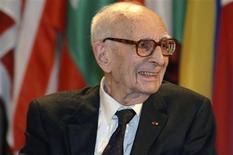<p>Foto de divulgação do antropólogo francês Claude Lévi-Strauss, que morreu aos 100 anos REUTERS/Danica Bijeljac/UNESCO/Divulgação</p>