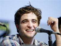 <p>Il protagonista di Twilight Robert Pattinson. REUTERS/Mario Anzuoni</p>