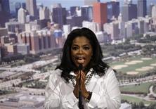 <p>La conduttrice tv Usa Oprah Winfrey. REUTERS/Matt Dunham/Pool</p>
