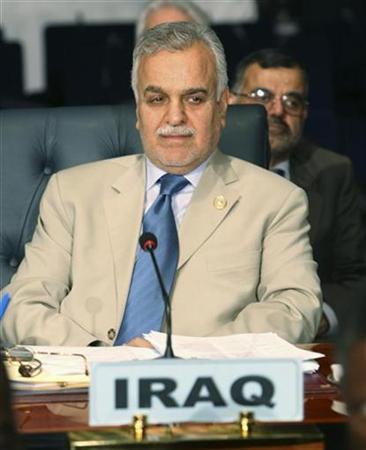 Iraqi Vice President Tareq al-Hashemi attends the Non-Aligned Movement (NAM) summit in Sharm el-Sheikh July 15, 2009. REUTERS/Khaled El Fiqi/Pool