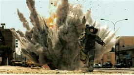 "<p>Actor Jeremy Renner is shown in a scene from the film ""The Hurt Locker"" in this undated publicity photograph. REUTERS/Courtesy of Summit Entertainment/Handout</p>"