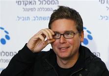 <p>Il co-fondatore di Twitter, Biz Stone. REUTERS/Gil Cohen Magen</p>