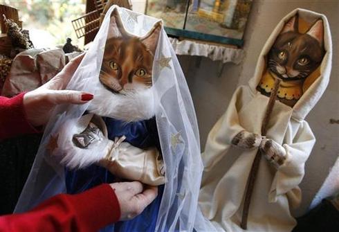 Nativity scenes around the world