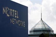 <p>L'équipementier télécoms Nortel Networks a demandé en justice l'autorisation de vendre une partie de sa technologie de communication par la voix via internet, Carrier VoIP, au groupe Genband pour 282 millions de dollars. /Photo prise le 10 août 2009/REUTERS/Blair Gable</p>