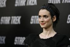 <p>Winona Ryder alla prima di Star Trek a Hollywood il 30 aprile del 2009. REUTERS/Mario Anzuoni</p>