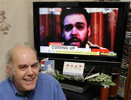 British hostage freed in Iraq