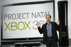 <p>Robbie Bach, presidente di Microsoft Entertainment and Devices Division. REUTERS/Mario Anzuoni (UNITED STATES - Tags: BUSINESS)</p>