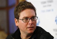 <p>Biz Stone, cofondatore del sito di microblogging Twitter. REUTERS/Gil Cohen Magen</p>
