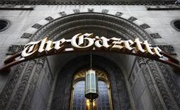 <p>The office of The Gazette is seen in downtown Montreal, January 18, 2010. REUTERS/Shaun Best</p>