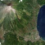 <p>Immagini trasmesse da un satellite REUTERS/NASA EO-1 team/Handout</p>