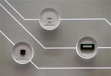 <p>Alcuni chip di Samsung Electronics. REUTERS/Lee Jae-Won</p>