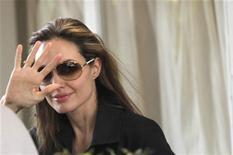 <p>Angelina Jolie a Port-au-Prince. REUTERS/Kena Betancur</p>