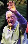 <p>Stan Lee, autore di Marvel Comics. REUTERS/Danny Moloshok</p>
