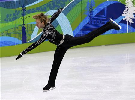 Majestic Plushenko eyes gold