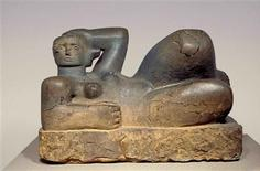 "<p>""Reclining Figure 1929"" by British sculptor Henry Moore is seen in this undated handout photograph released in London February 22, 2010. REUTERS/Tate Britain/The Henry Moore Foundation/Handout</p>"