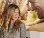 """<p>Atriz Jennifer Aniston durante estreia do filme """"O Amor Acontece"""" em Los Angeles em 2009. O filme romântico entra em circuito nacional nesta sexta-feira. 15/09/2009 REUTERS/Fred Prouser</p>"""