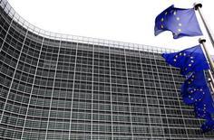 <p>La Commission Européenne a rejeté la plainte à l'encontre de France Télécom déposée en mars 2009 par Vivendi et Iliad pour abus de position dominante. /Photo d'archives/REUTERS/Yves Herman</p>