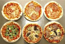 <p>Alcune pizze in una foto d'archivio. REUTERS/KCNA (NORTH KOREA MILITARY FOOD SOCIETY POLITICS)</p>
